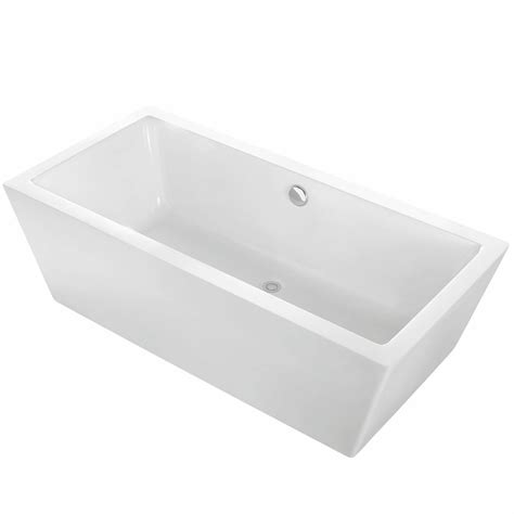 Maykke Alsen 60  X 31  Freestanding Soaking Bathtub .