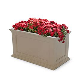 Mayne 174 Fairfield Patio Planter 36 Quot L X 20 Quot W .