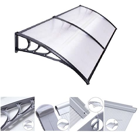 Mcombo 40 X80 Window Awning Outdoor Polycarbonate Front .