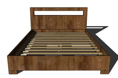 Mdf Bed Frame Plans Homemade