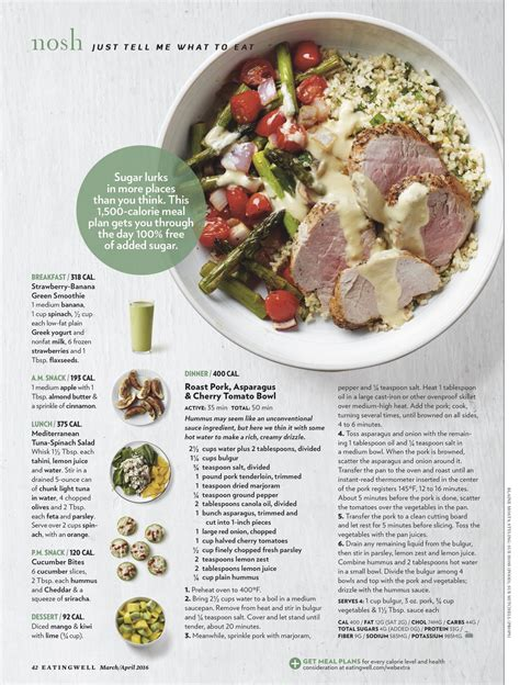 @ Meal Plans - Eatingwell.