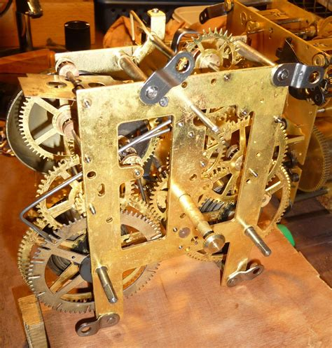 Mechanical Clock Movement Plans