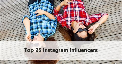 [click]meet The Top 25 Instagram Influencers Of Our Time.