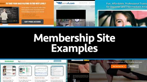 Membership Site Examples: Get Some Ideas From These 10.