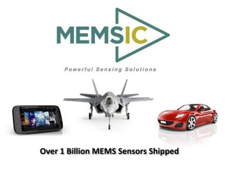 Memsic Leader In Mems Sensor Technology.