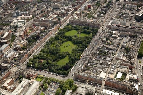 Merrion Square Park Dublin Ireland