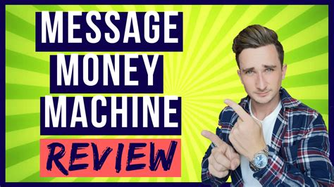 Message Money Machine Review - Is It A Scam??.
