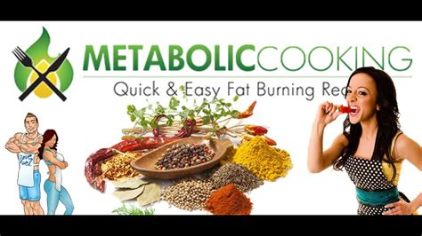 Metabolic Cooking - Fat Loss Cookbook - Youtube.
