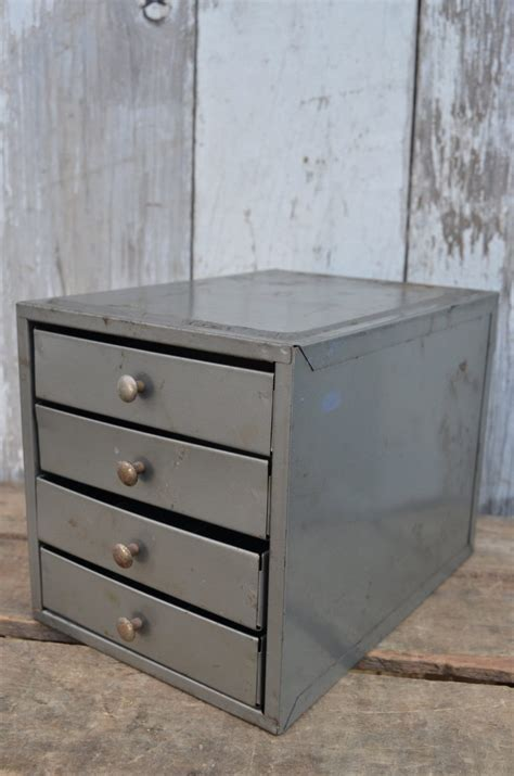 Metal Chest Of Drawers Vintage