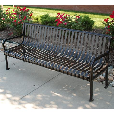 Metal Park Benches Commercial