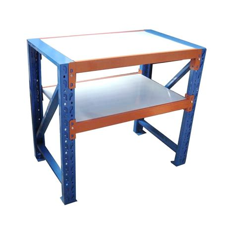 Metal Work Benches With Storage