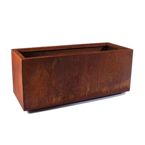 Metallic Series Corten Steel Planter Box  Reviews  Allmodern.