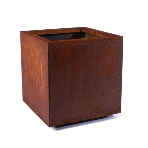 Metallic Series Corten Steel Planter Box - Wayfair Com.