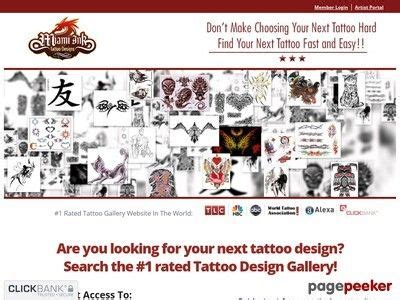 Miami Ink Tattoo Designs = New Responsive Website - Things.