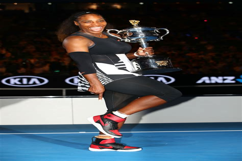 Michael Jordan and Serena Williams