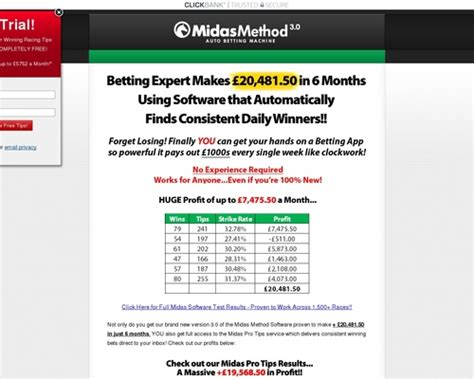 Midas Method Software – Insane Epcs, Rebills And Low Refunds.