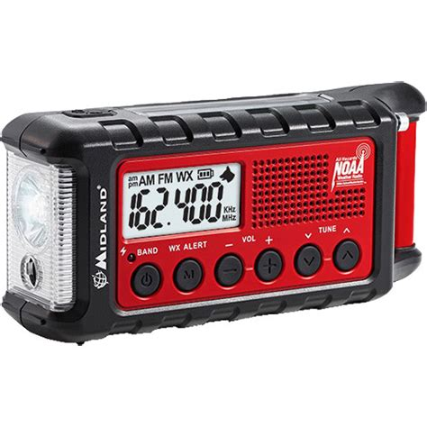 Midland E Ready Er310 Emergency Crank Weather Alert Radio.