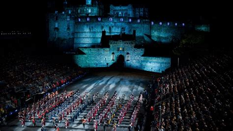 Military Musicians From Across Globe Dazzle In Edinburgh.