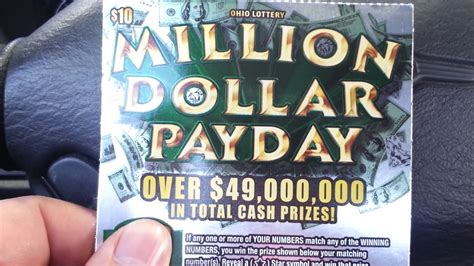 [click]million Dollar Payday  The Ohio Lottery.