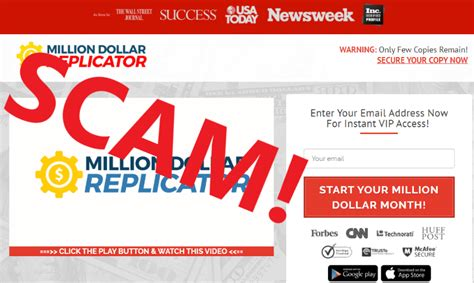 @ Million Dollar Replicator - Scam Or Legit  Review .