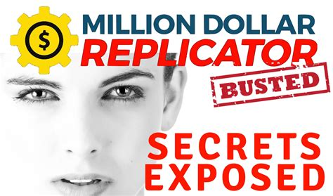 @ Million Dollar Replicator Review - Scam Exposed .