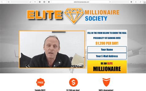 Millionaire Society Scam? - Stay Safe Online.