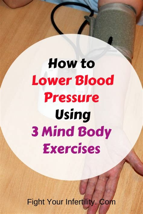 @ Mind Over Body To Lower Your Blood Pressure.