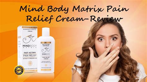 Mindbody Matrix Pain Cream Review-Dont Buy Before You Read.