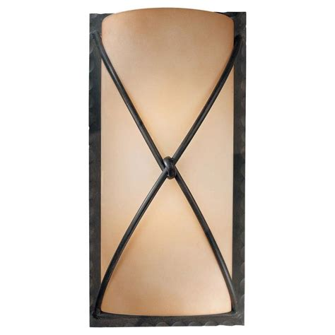 Minka Lavery Aspen Ii 2-Light Bronze Sconce-1975-1-138 .