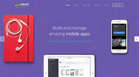 @ Mobappcreator - App Creation  Mobile Marketing Tool
