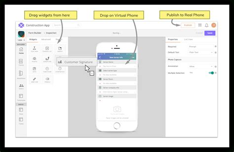 Mobile App Builder No Coding Required Axonator.