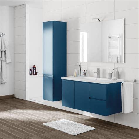 mobile bagno blu