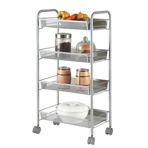 Mobile Shelving With Wheels