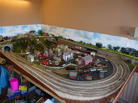 Model Train Layouts & Track Plans In Ho Scale - Various Projects.