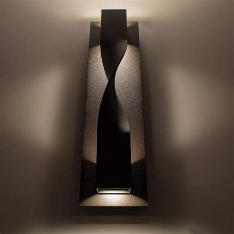 Modern Forms Modern Forms Twist Led Wall Light Bronze .