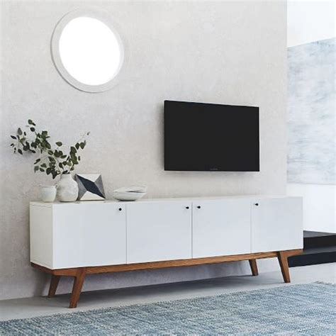 Modern Media Consoles Cabinets  Storage  West Elm.