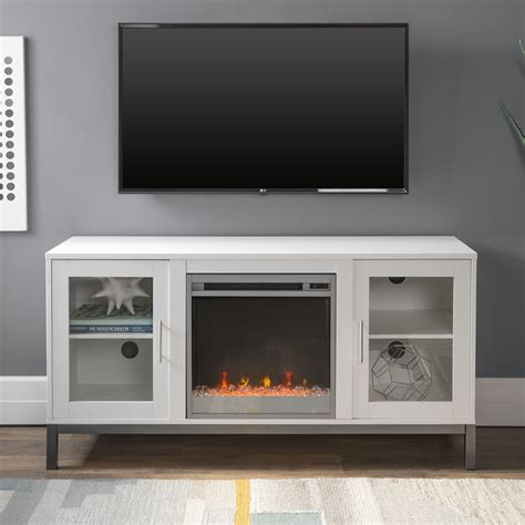 Modern TV Stands With Fireplace