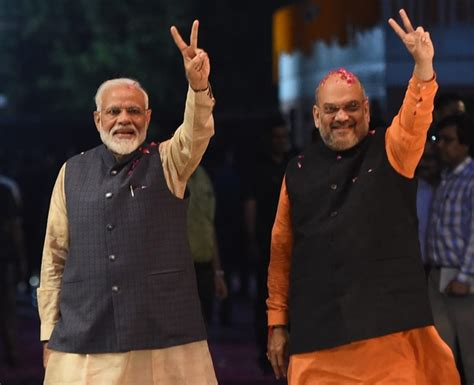 Modis Bjp Wins General Majority In Indian Election With 303 Seats.