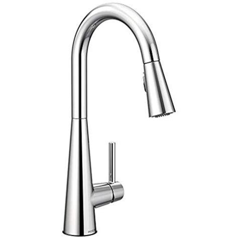 Moen 7864 Sleek One-Handle High Arc Pulldown Kitchen .