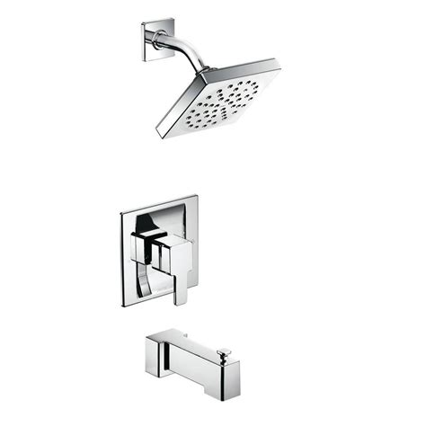 Moen 90-Degree Posi-Temp 1-Handle Tub And Shower Trim Kit .