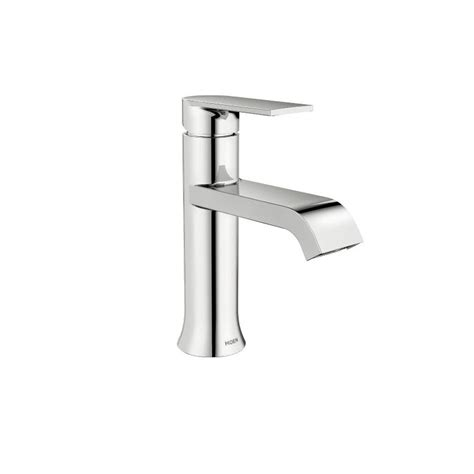 Moen Ws84760 Genta Chrome One-Handle Bathroom Faucet.