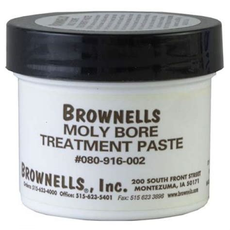 Moly Bore Treatment Paste - Brownells Moly Bore Paste .
