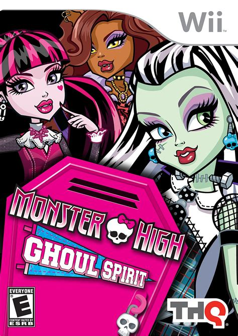 Monster High Wii Games