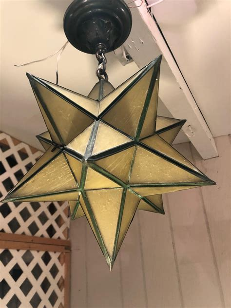 Moravian Star Chandelier For Sale At 1stdibs.