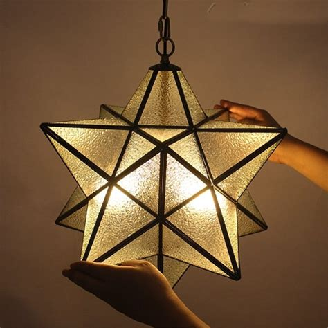 Moravian Star Pendant Ceiling Light Fixture - Sears Com.