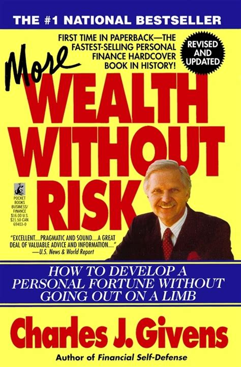 More Wealth Without Risk Book By Charles J. Givens Official.