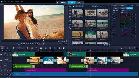 [click]movie Editing Software By Corel - Videostudio Ultimate 2019.