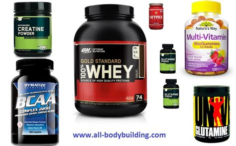 Muscle Building - Steel Supplements.