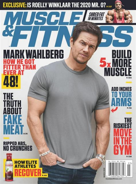 Muscle Magazines Mark Fisher Fitness.