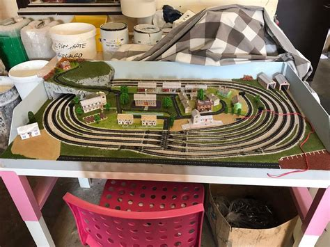 [click]my First Dcc Model Railway Trains Running On My Layout